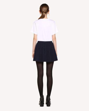 REDValentino QR0RF1G5392 B01 Printed skirt Woman r