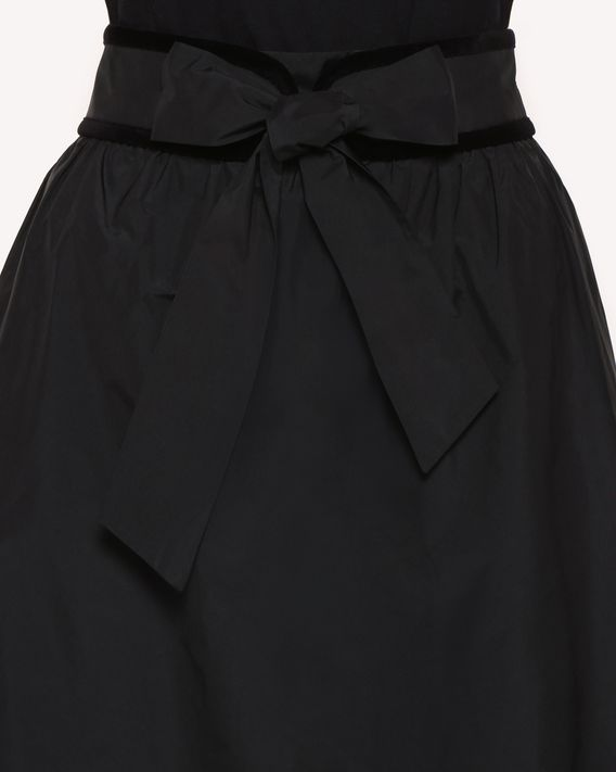 REDValentino Skirt in Techno Taffeta with belt detail
