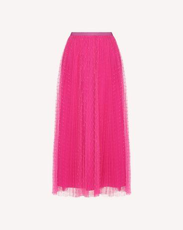 REDValentino QR0RA3B0428 FA9 Printed skirt Woman a