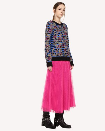 REDValentino QR0RA3B0428 FA9 Printed skirt Woman d