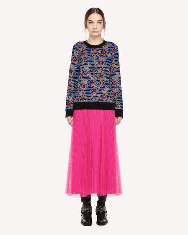 REDValentino QR0RA3B0428 FA9 Printed skirt Woman f