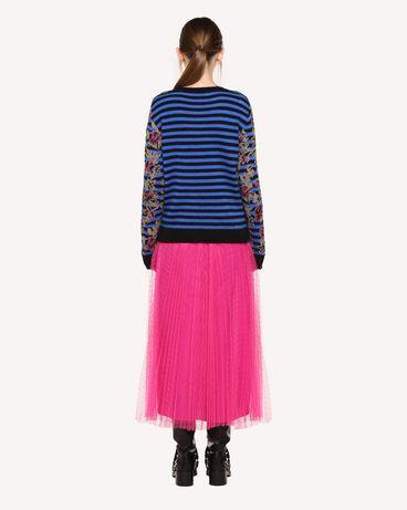 REDValentino QR0RA3B0428 FA9 Printed skirt Woman r