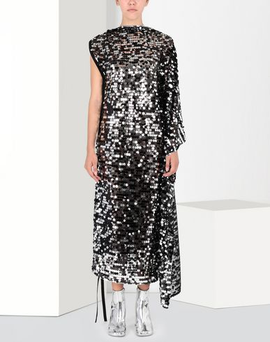 MM6 MAISON MARGIELA Long sequinned dress 3/4 length skirt [*** pickupInStoreShipping_info ***] f