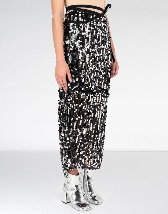 MM6 MAISON MARGIELA Long sequinned dress 3/4 length skirt [*** pickupInStoreShipping_info ***] e