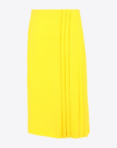 MAISON MARGIELA 3/4 length skirt [*** pickupInStoreShipping_info ***] Long Georgette maxi skirt  f