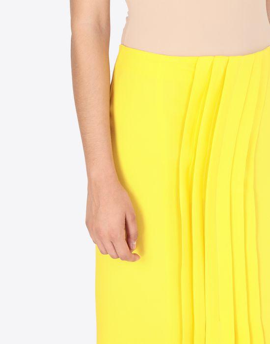 MAISON MARGIELA Long Georgette maxi skirt  3/4 length skirt [*** pickupInStoreShipping_info ***] a