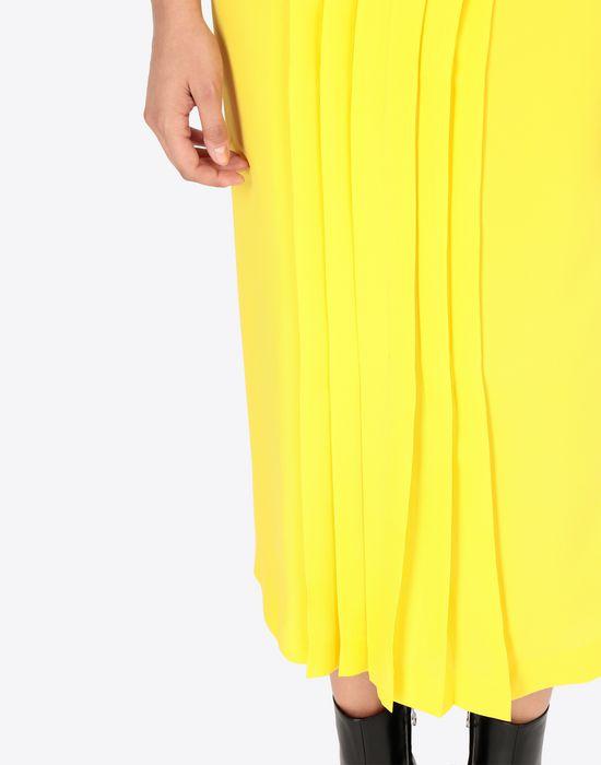 MAISON MARGIELA Long Georgette maxi skirt  3/4 length skirt [*** pickupInStoreShipping_info ***] b
