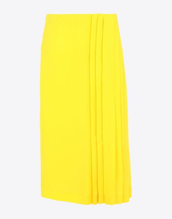 MAISON MARGIELA Long Georgette maxi skirt  3/4 length skirt [*** pickupInStoreShipping_info ***] f
