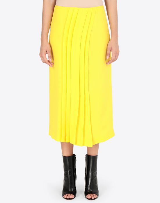 MAISON MARGIELA Long Georgette maxi skirt  3/4 length skirt [*** pickupInStoreShipping_info ***] r