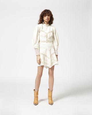 LARA linen skirt