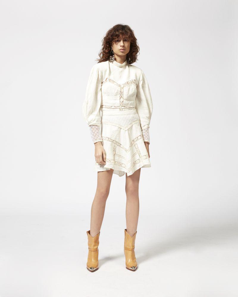 LARA linen skirt ISABEL MARANT