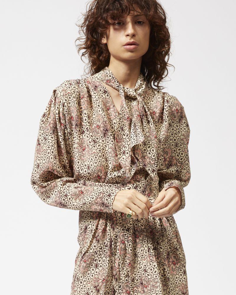 HEMEN printed skirt ISABEL MARANT