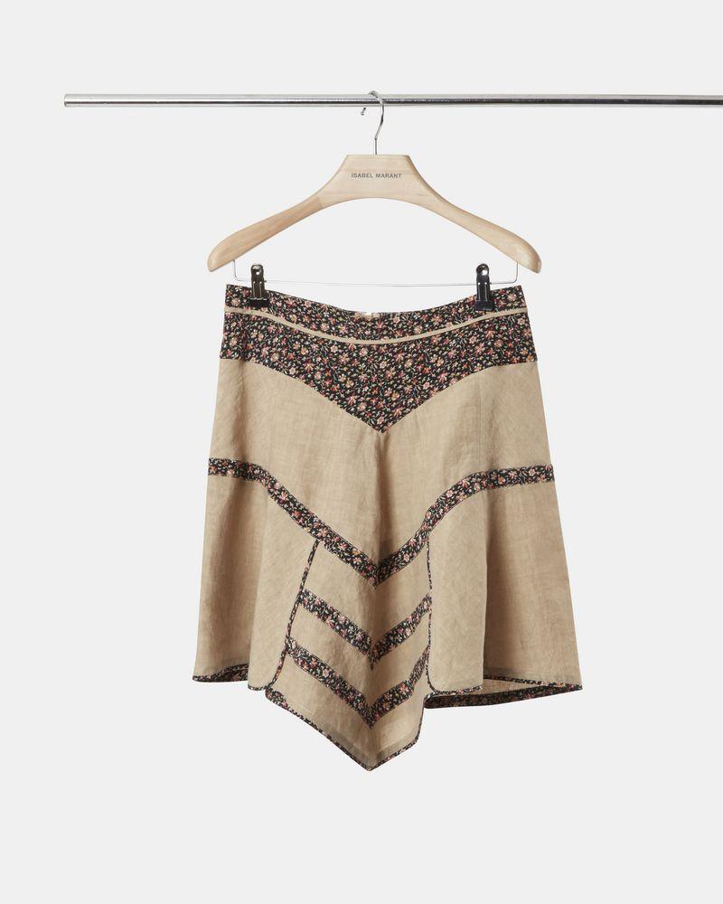 MARTA linen skirt ISABEL MARANT
