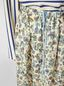 Marni Straight-cut skirt in cotton voile with Maisie print Woman - 4