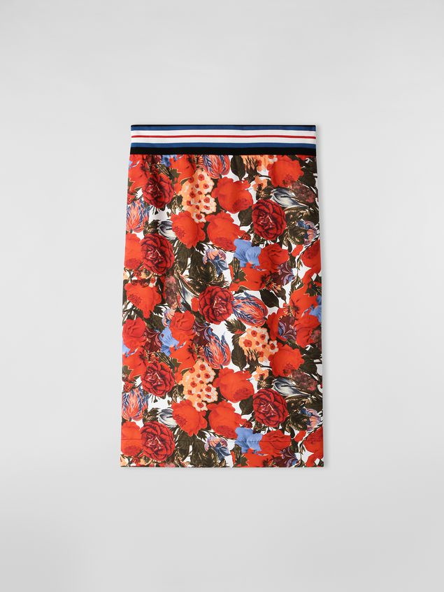 Marni Skirt in viscose twill with Duncraig print Woman - 2