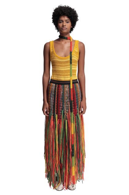 MISSONI Skirt Orange Woman - Back