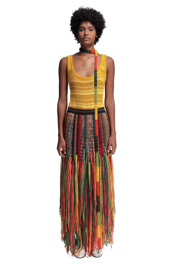 MISSONI Skirt Orange Woman