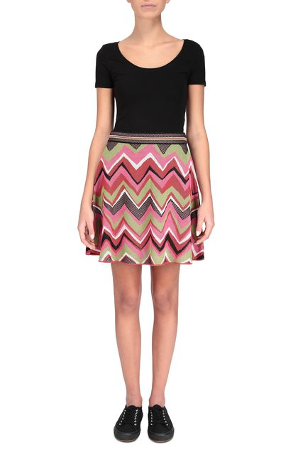 M MISSONI Skirt Fuchsia Woman - Back