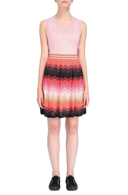 M MISSONI Skirt Coral Woman - Back