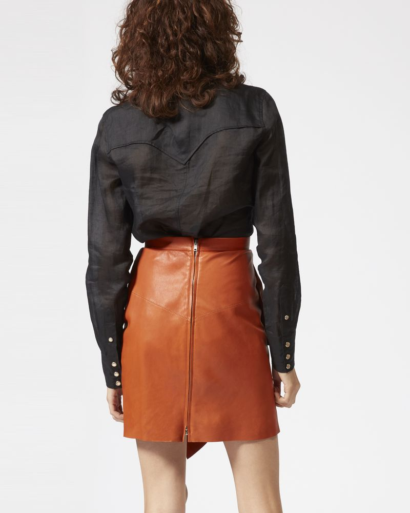 NELA leather skirt ISABEL MARANT