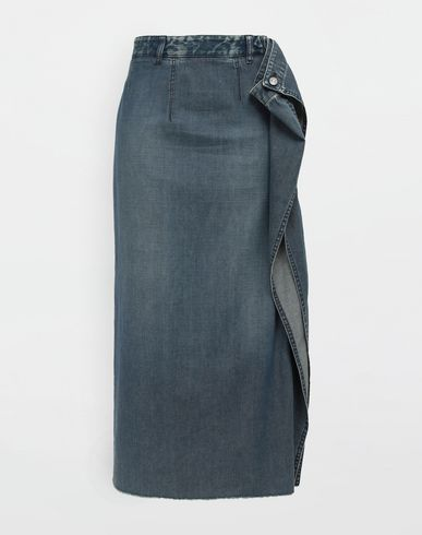 MM6 MAISON MARGIELA Denim skirt [*** pickupInStoreShipping_info ***] Wrap denim skirt f