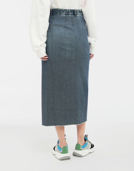 MM6 MAISON MARGIELA Wrap denim skirt Denim skirt [*** pickupInStoreShipping_info ***] e