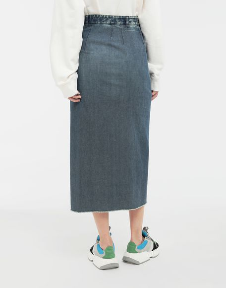 MM6 MAISON MARGIELA Wrap denim skirt Denim skirt Woman e