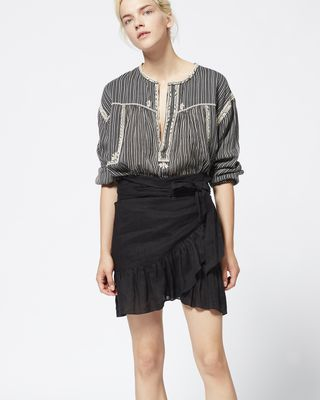 ISABEL MARANT ÉTOILE SHORT SKIRT Woman TEMPSTER skirt r