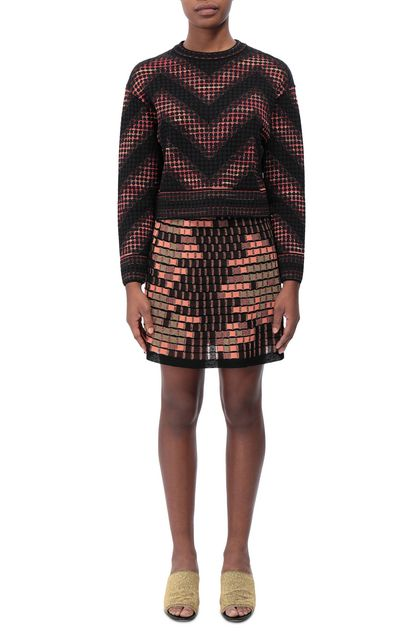 M MISSONI Skirt Black Woman - Back