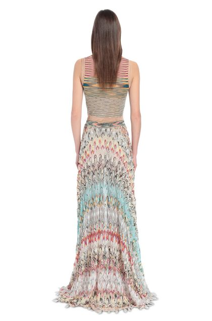 MISSONI Skirt Beige Woman - Front