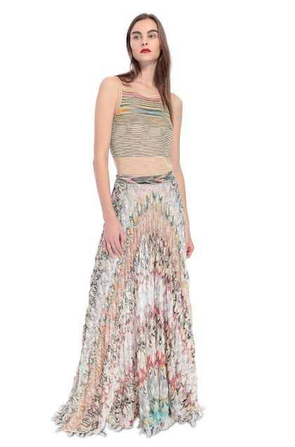 MISSONI Skirt Beige Woman - Back