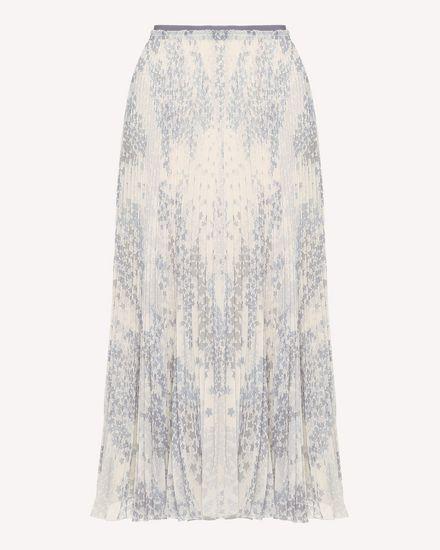 REDValentino Printed skirt Woman RR3RAA90ZAJ GZ7 a