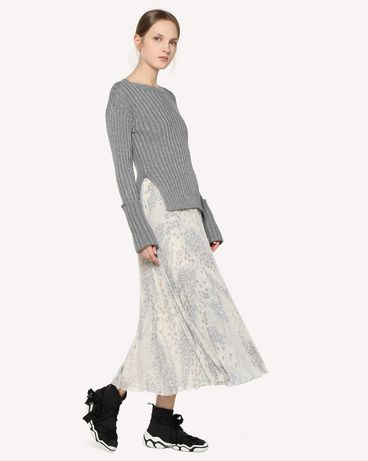 REDValentino RR3RAA90ZAJ GZ7 Printed skirt Woman d