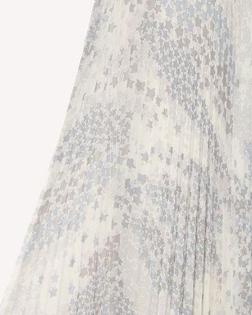 REDValentino RR3RAA90ZAJ GZ7 Printed skirt Woman e