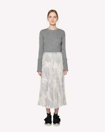 REDValentino RR3RAA90ZAJ GZ7 Printed skirt Woman f