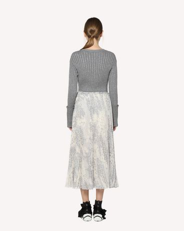 REDValentino RR3RAA90ZAJ GZ7 Printed skirt Woman r