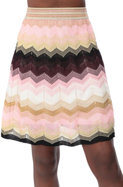 M MISSONI Skirt Light pink Woman - Front