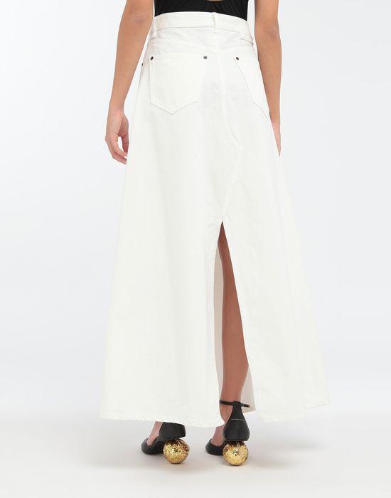 MM6 MAISON MARGIELA Open hem denim skirt Long skirt [*** pickupInStoreShipping_info ***] e