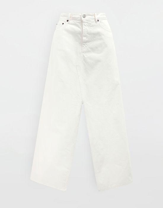 MM6 MAISON MARGIELA Open hem denim skirt Long skirt [*** pickupInStoreShipping_info ***] f
