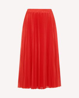 REDValentino Midi Skirt Woman RR0MD00BEEZ NV1 a