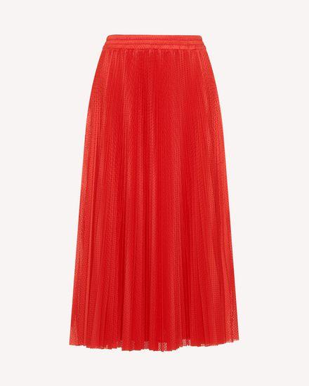 REDValentino Mini jupe Femme RR3MD00BYFU D05 a