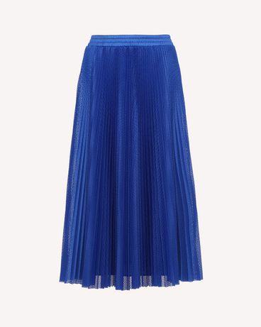 REDValentino RR3MD00BYFU JK8 Midi Skirt Woman a