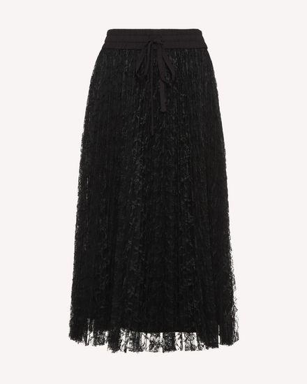 REDValentino Midi Skirt Woman RR3RA00BQIM 0NO a