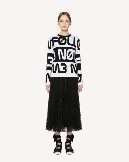 REDValentino Midi skirt Woman RR3RA00BQIM 0NO f