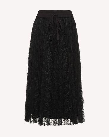 REDValentino RR3RA00BQIM 0NO Midi Skirt Woman a
