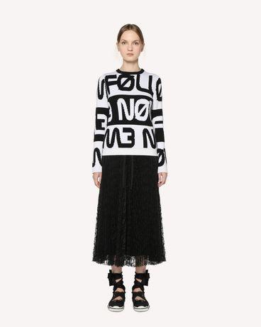 REDValentino RR3RA00BQIM 0NO Midi Skirt Woman f