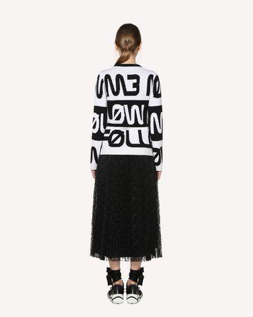 REDValentino RR3RA00BQIM 0NO Midi Skirt Woman r