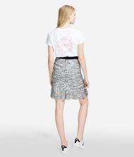 KARL LAGERFELD Bouclé Skirt with Ruffles  9_f