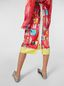 Marni Tulip skirt with slit in viscose cloth with Venere print  Woman - 5