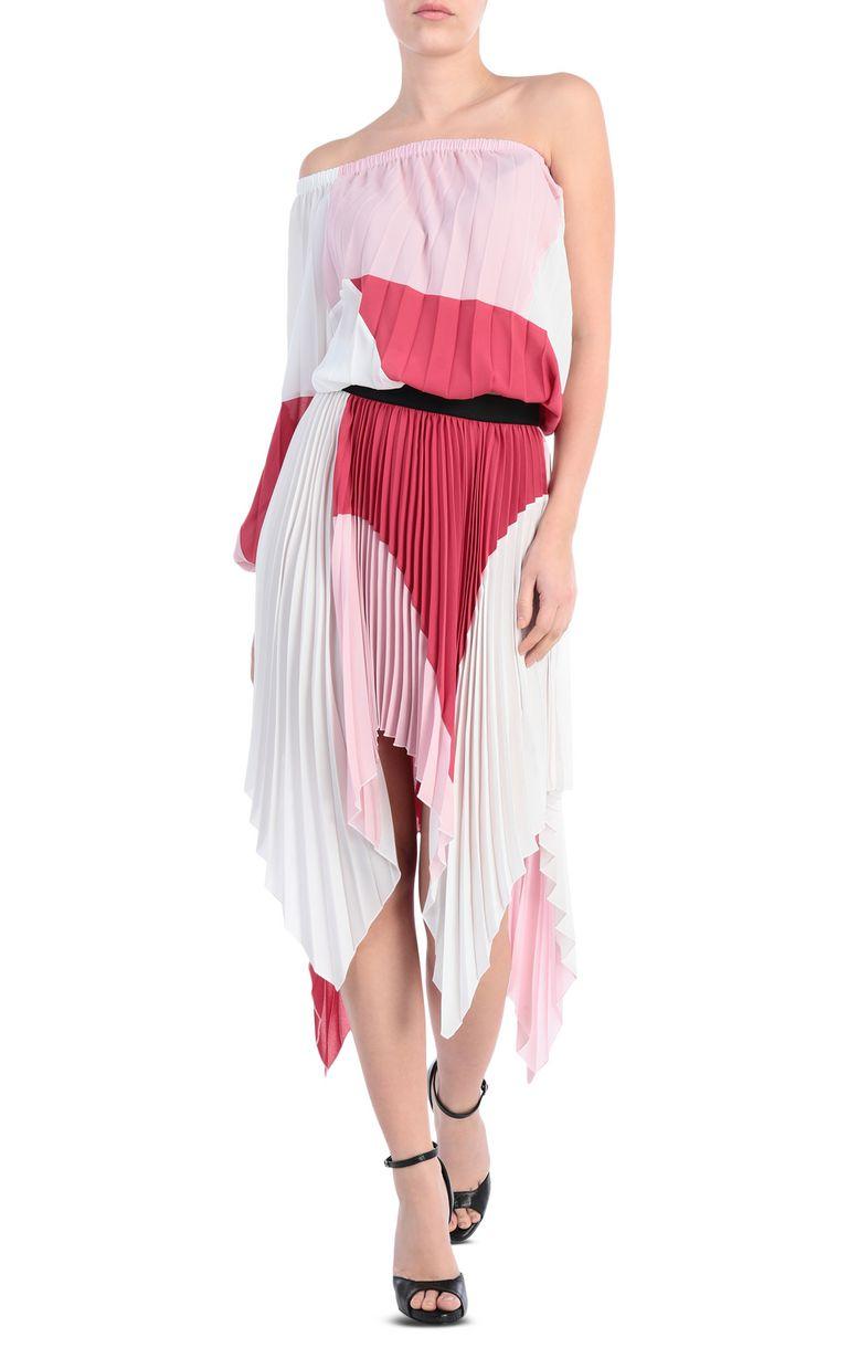 JUST CAVALLI Asymmetric pleated skirt Skirt Woman d